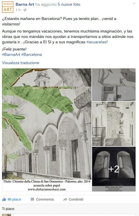 Barna Art - ¿Estaréis mañana en Barcelona Pues ya tenéis...